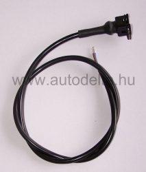 Mágnestekercs kábel csatlakozóval