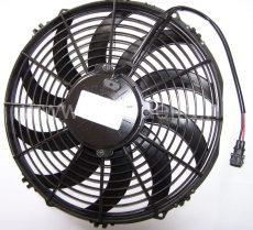 Axiál ventilátor 20, 24V=, ISUZU