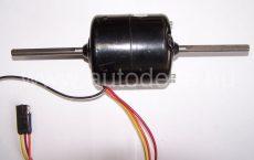 Ikerventillátor motor két tengelyvéggel, Fasco 3 fokozat, 24V=